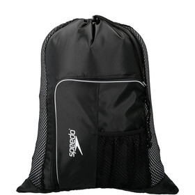 speedo Deluxe Ventilator Mesh Bag L black/white